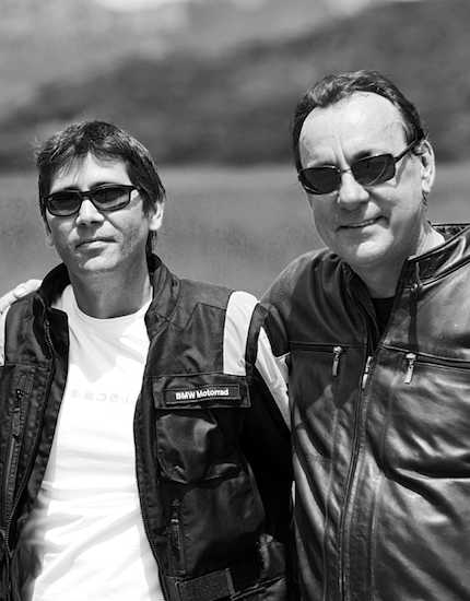 Don Argento and Neil Peart